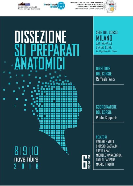 DISECCIÓN SOBRE PREPARACIONES ANATÓMICAS - BioSAFin