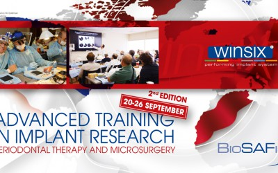 Advanced Training in Implant Research - sessione di Hands on Training con Impianti WINSIX