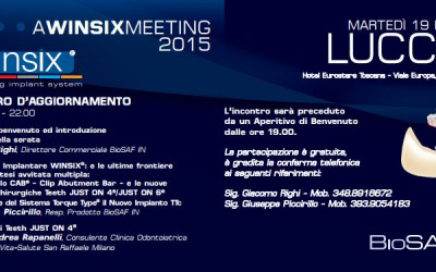 WINSIX® Meeting - Incontri d'Aggiornamento
