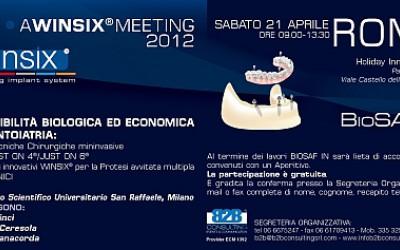 WINSIX® Meeting - Incontri di aggiornamento